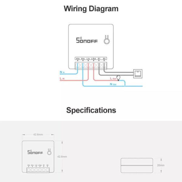 mini WiFi relay